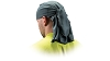 Pyramex CSKT212 Moisture Wicking Head Towel With ties - Gray