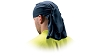 Pyramex CSKT260 Moisture Wicking Head Towel With ties - Blue