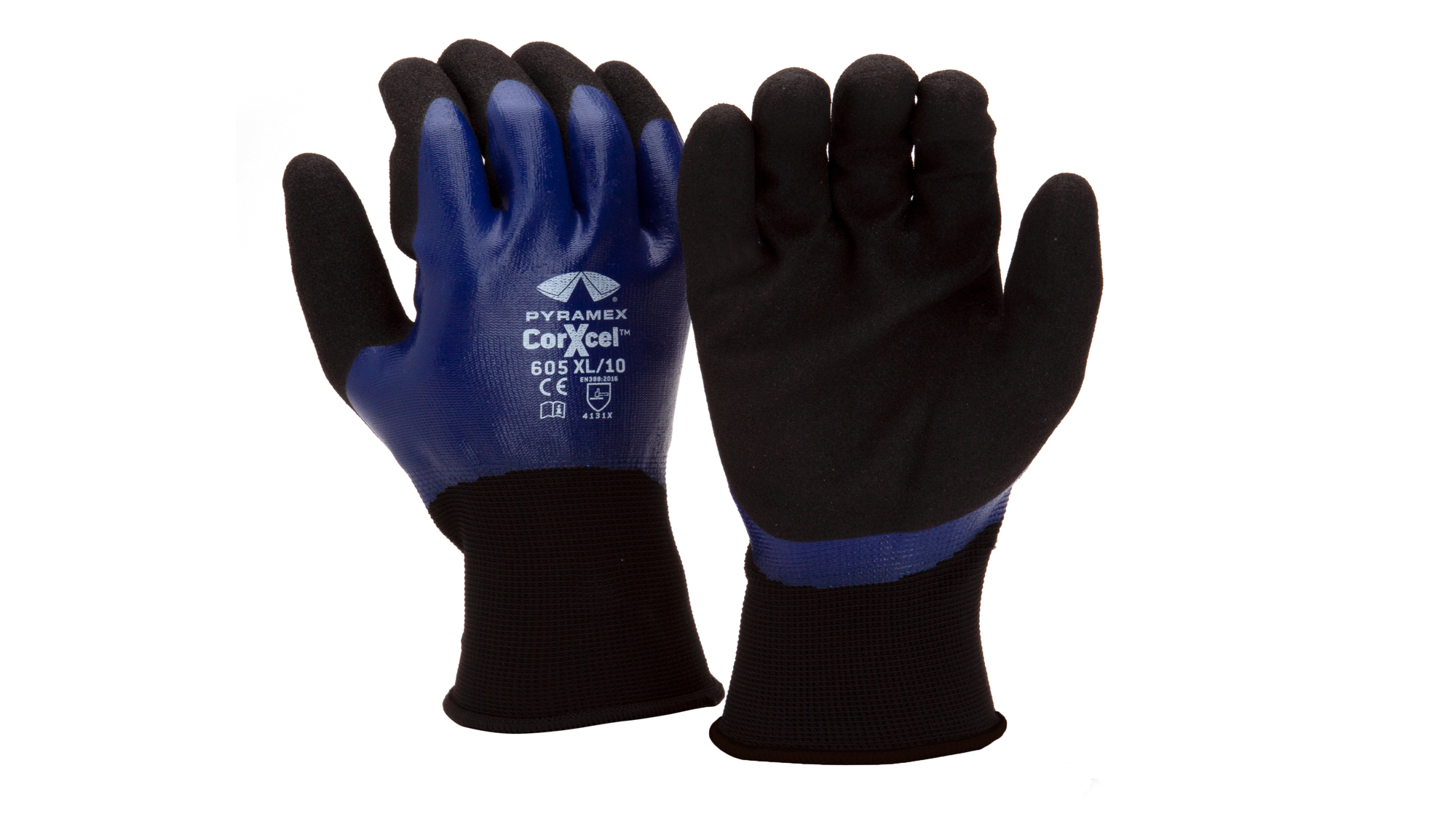 Pyramex GL605 Sandy & Smooth Nitrile Gloves