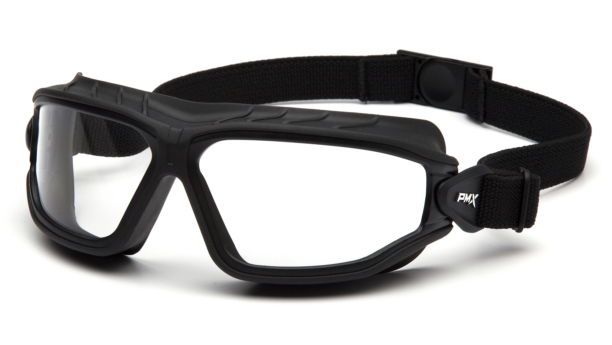 Torser - Clear H2MAX Anti-Fog Lens with Black Strap