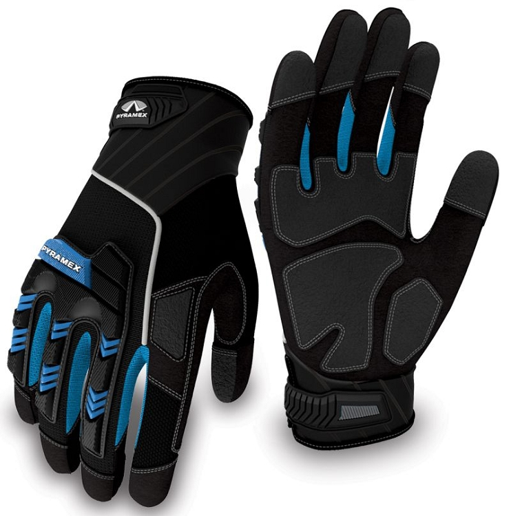 Pyramex GL201 Series Heavy Duty Impact Gloves - Pair