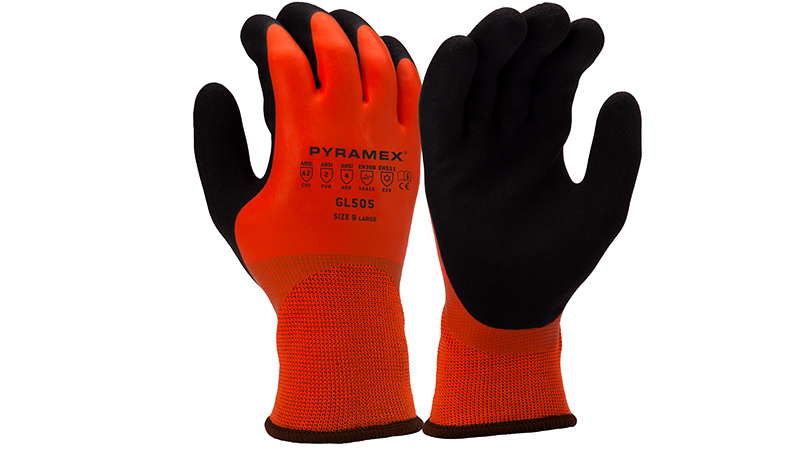 Pyramex GL505 Sandy Latex Gloves