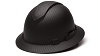 Ridgeline Vented Graphite Pattern Full Brim Hard Hat - With 4 Point Ratchet Suspension