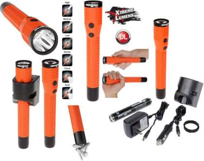 Nightstick Xtreme Lumens Polymer Multi-Function Duty/Personal-Size Dual-Light w/Magnet - LED - Rech