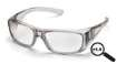 6 Pack Emerge - Gray Frame Clear +1.5 Full Reader Lens