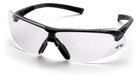Onix - Black Frame Clear Anti Fog Lens