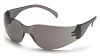 MINI Intruder Safety Glasses - Gray Lens/Frame (Small Size)