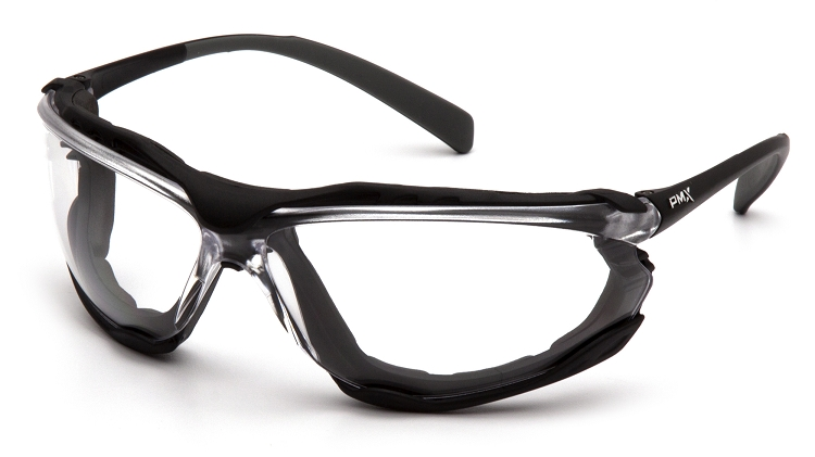 ProximityClear H2X Anti-Fog Lens with Black/Gray Temples
