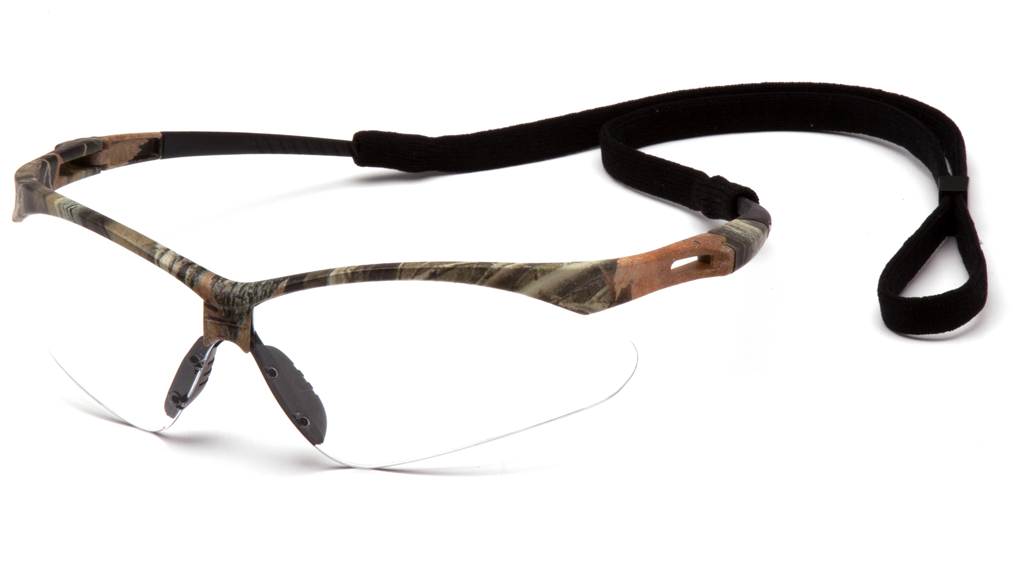 PMXTREME Safety Glasses - Camo Frames Clear Lens