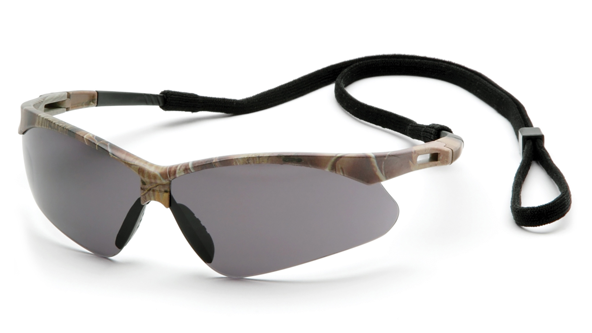 PMXTREME Safety Glasses - Camo Frames Gray Anti-Fog Lens