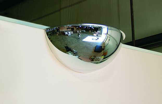 32 Inch 180 Degree Viewing 1/2 Dome Mirror
