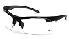 Venturegear Tactical - Drone Safety Glasses - Clear Anti-Fog Lens Black Frame