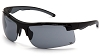 Venturegear Tactical - Drone Safety Glasses - Gray Anti-Fog Lens Black Frame