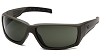 Venturegear Tactical - Overwatch Safety Glasses - Forest Gray Anti-Fog Lens OD Green Frame