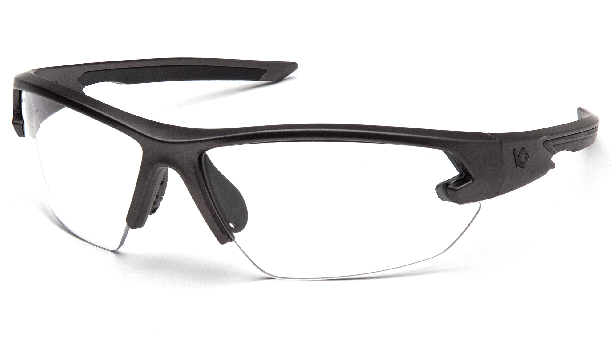 Venturegear Tactical - Semtex 2.0 Safety Glasses - Clear Anti-Fog Lens with Gun Metal Frame