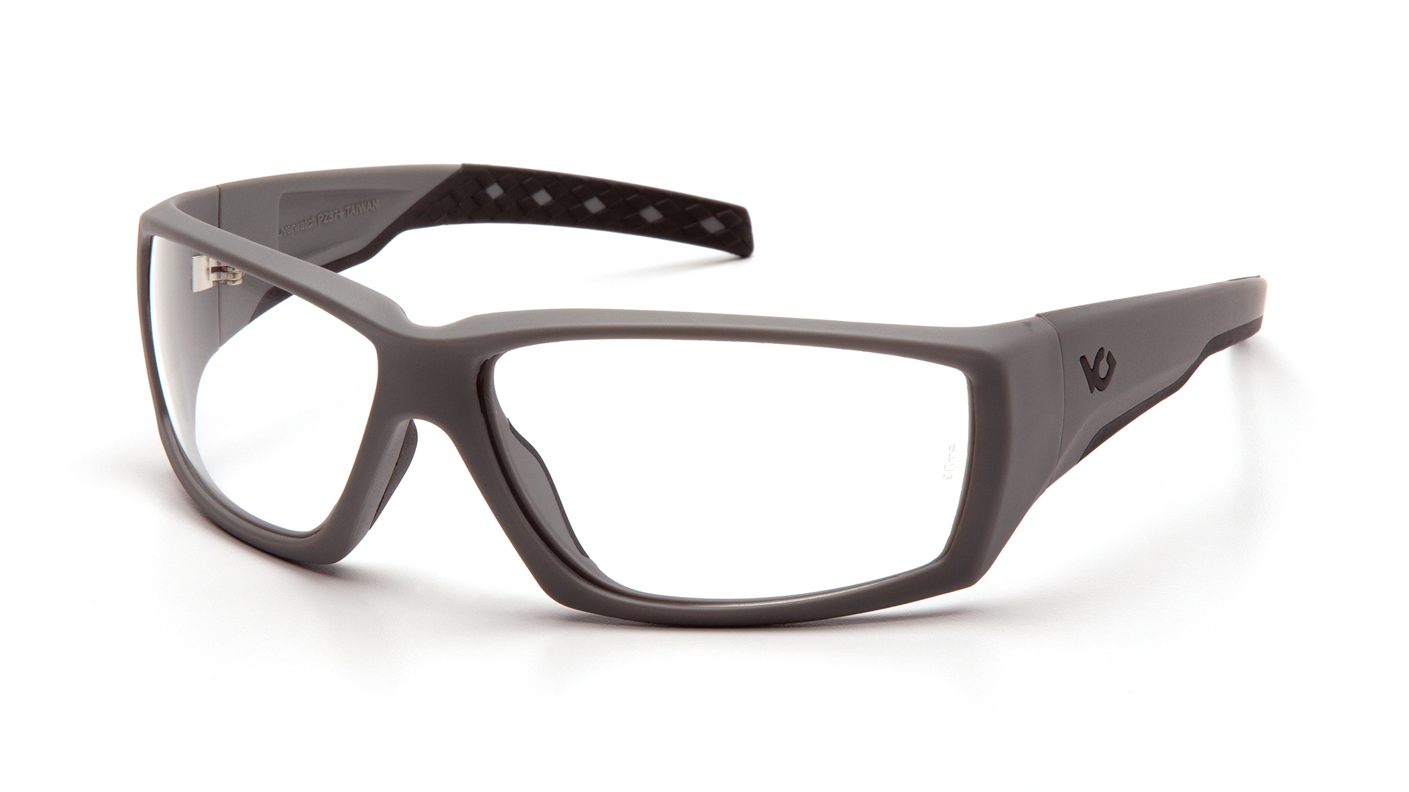 Venturegear Tactical - Overwatch Safety Glasses - Clear Anti-Fog Lens Urban Gray Frame