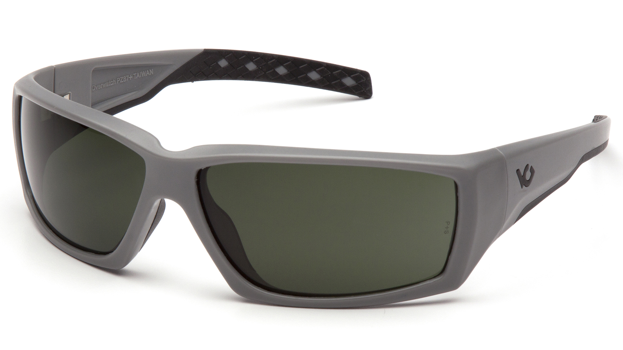 Venturegear Tactical - Overwatch Safety Glasses - Forest Gray Anti-Fog Lens Urban Gray Frame