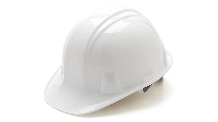 Pyramex Cap Style Hard Hats - With 6 Point Ratchet Suspension