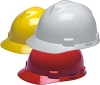 MSA V-Gard (Standard Size) Hard Hats W/Fas-Trac Ratchet Suspension