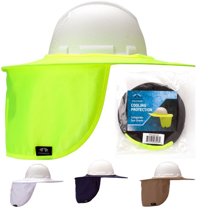 Pyramex HPSHADEC Collapsible Hard Hat Shade