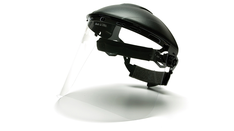 Polycarbonate Face Full Shield  (Shield Only - Headgear Sold Separately)