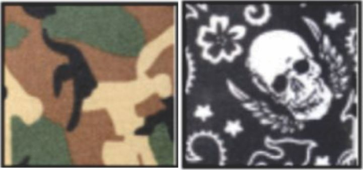 108 Special Skull & Camo Pack  - MiraCool Cooling Bandanas