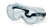 Pyramex Clear Anti-Fog Ventless Safety Goggles