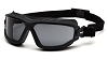 Torser - Gray H2MAX Anti-Fog Lens with Black Strap