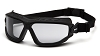 Torser - Light Gray H2MAX Anti-Fog Lens with Black Strap