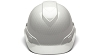Ridgeline Shiny White Graphite Pattern Cap Style Hard Hat