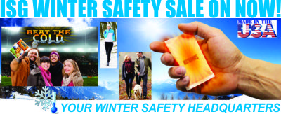 ISG Is Your Winter Safety Headquarters!
