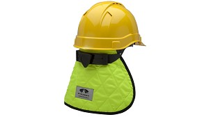 Pyramex CNS130 Cooling Hard Hat Pad & Neck Shade High Viz Lime