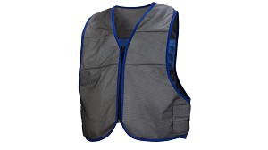 Pyramex CV100 Series Cooling Vest - Gray/Blue