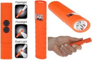 Nightstick Multi-Purpose Dual-Switch Dual-Light - LED - 2AAA
