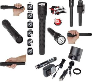 Nightstick Xtreme Lumens Polymer Multi-Function Duty/Personal-Size Dual-Light - LED - Rech
