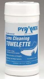 Canister of 100 Pre-Moistened Lens Cleaning Towlettes