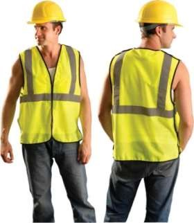OccuLux ANSI Class 2 Safety Vest - Economy - 5 Point Break-Away (Mesh) (Hook Loop Closure)