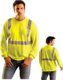 Occulux ANSI Class 2 Long-Sleeve Reflective T-Shirt