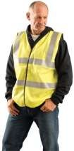 Classic Flame Resistant Dual Stripe Solid Vest