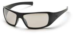 Goliath - Black Frame Indoor/Outdoor Clear Mirror Lens