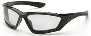 Accurist Safety Glasses - Clear Lens Black Frame