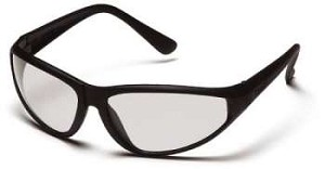 Zone - Clear Lens Black Frame