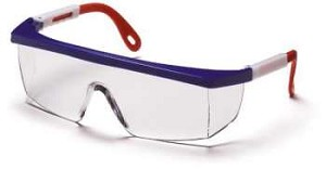 Integra - Clear Lens Red / White / Blue Frame