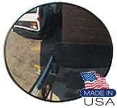 "26"" - Convex Acrylic Safety & Security Mirror (Heavy Duty Outdoor) W/3Telescopic Bkts"
