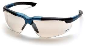 Reatta - Blue-Charcoal Frame Indoor/Outdoor Mirror Lens