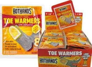 Hothands Toe Warmers with Adhesive - 40 Pair