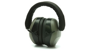 Low Profile Gray Earmuffs