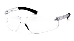 6 Pack Ztek Reader Safety Glasses - Clear 2.5 Bi-Focal Lens
