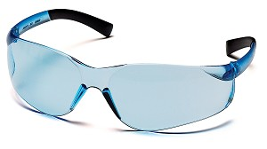 Ztek Safety Glasses - Infinity Blue Lens