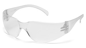 MINI Intruder Safety Glasses - Clear Lens/Frame (Small Size)